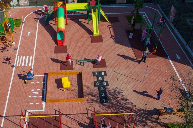 Parcul de joaca